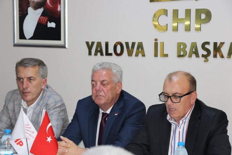 """CHP İl Teşkilatı, """"Muharrem İnce"""" Dedi"""