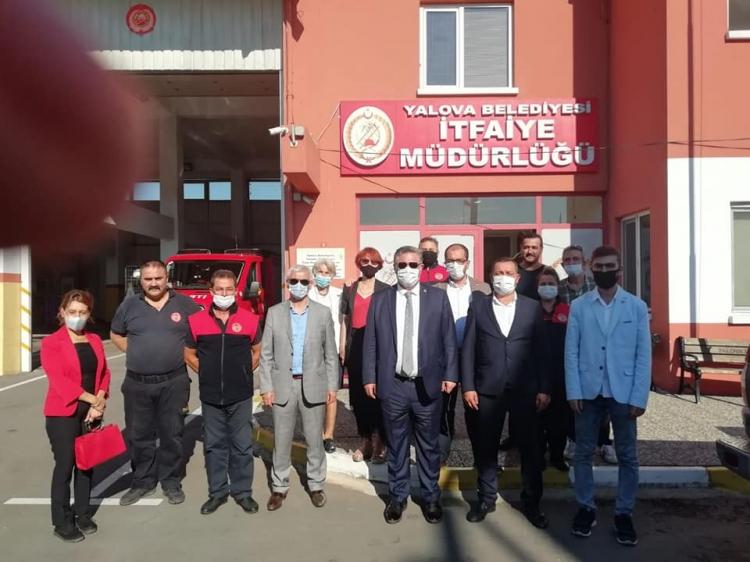 CHP İtfaiyecilerin Haftasını Kutladı
