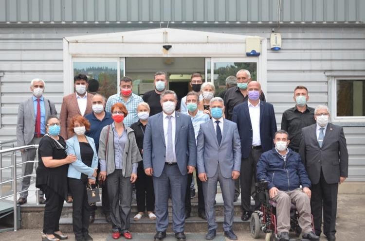 CHP Kaytazdere'ye Çıkarma Yaptı