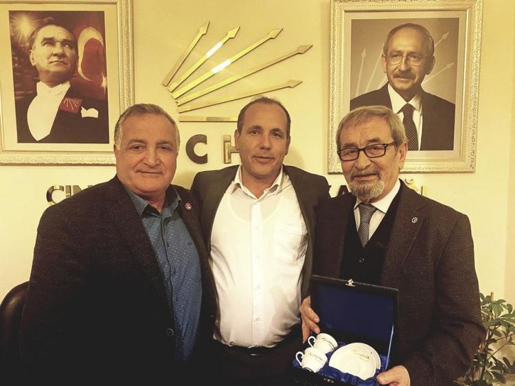 CHP Koru'da Görev Değişimi Yaptı
