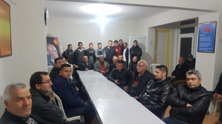 CHP Taşköprü Teşkilatında İstifa Depremi