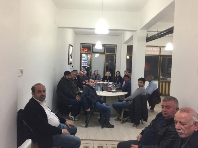 CHP Yönetimi Koruda İlk Toplantısını Yaptı
