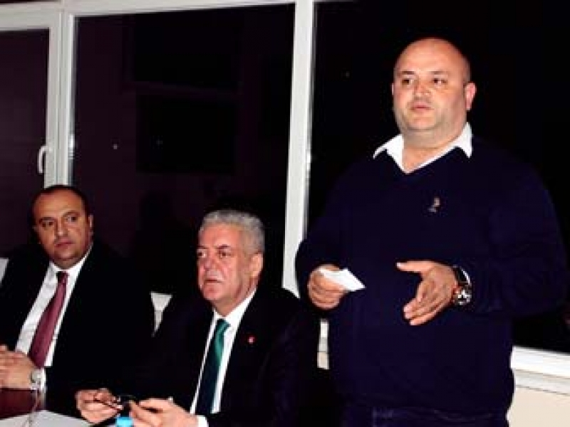 CHP Çınarcık Danışma Toplantısını Yaptı