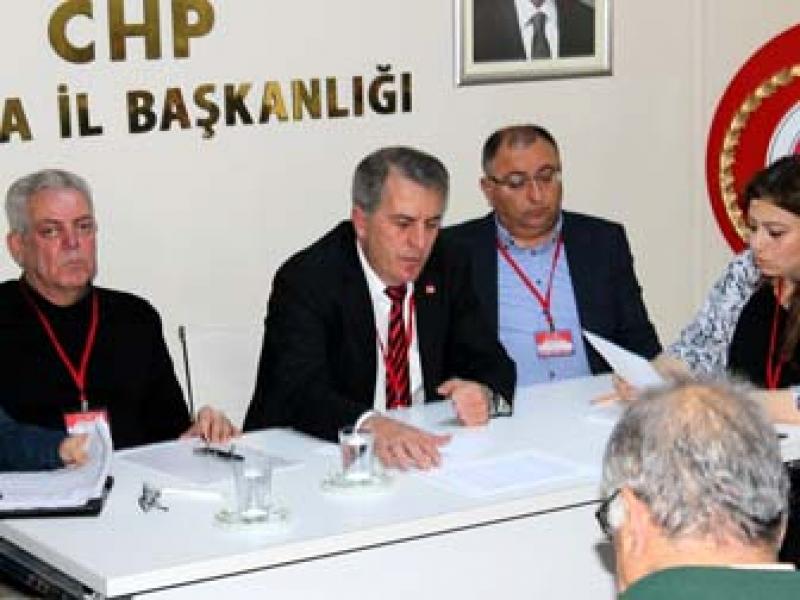 CHP Danışma Kurulu Toplantıları Sona Erdi