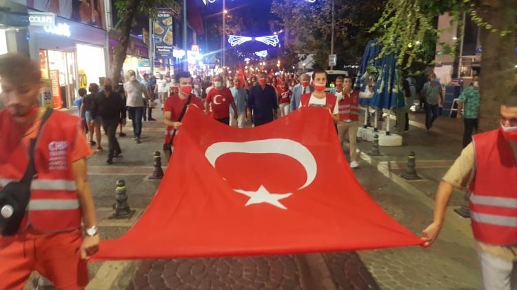 """CHP'den, """"Zafer Bayramı"""" Yürüyüşü"""