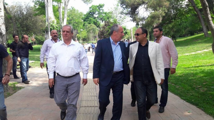 CHP'li Belediye Başkanları da Yürüyüşe Katıldı