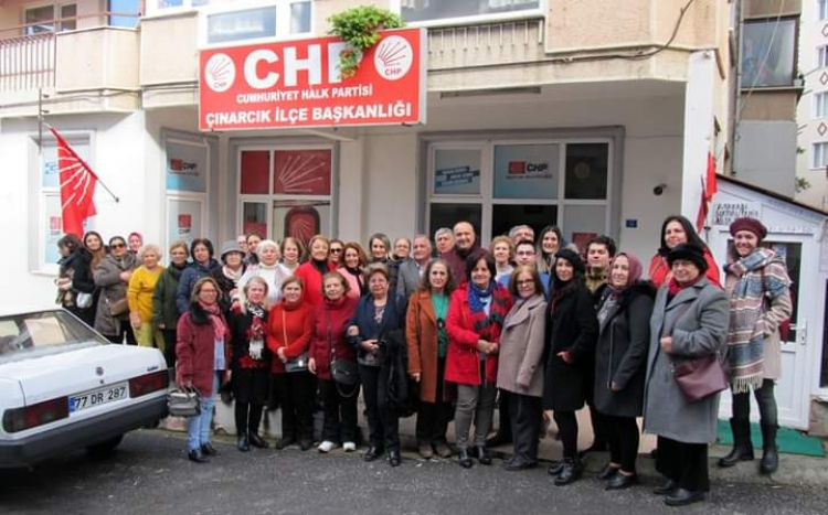 """CHP'li Kadınlar, """"Edepali"""" Dediler"""
