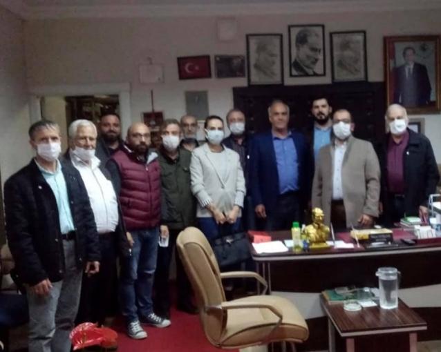 CHP'liler Sugören Köyünün Sorunlarını Dinledi