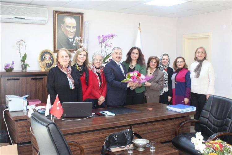 Kent Konseyi Kadın Meclisi'nden Ziyaret