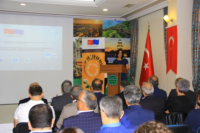 Çiftlikköy Belediyesi AB Projesi Tanıtım Toplantısı Yapıldı