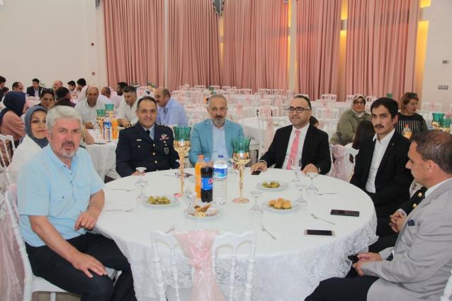 Çiftlikköy'de Bayramlaşma Töreni Yapıldı