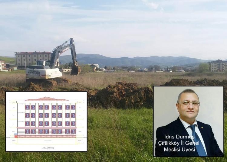 Çiftlikköy'de Eğitim Yatırımlarımız Devam Ediyor
