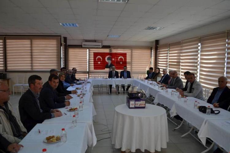 Çiftlikköy'de Hayat Boyu Öğrenme Toplantısı Yapıldı