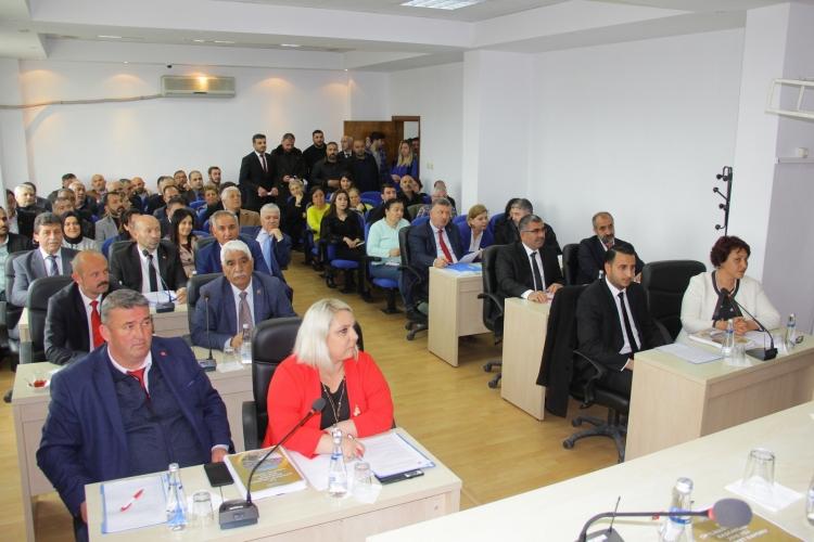 Çiftlikköy'de Yeni Meclis İlk Oturumunu Gerçekleştirdi