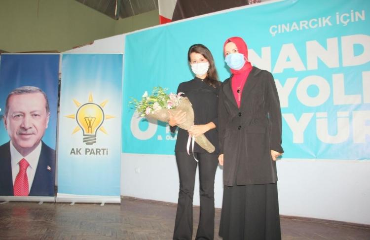 Çınarcık Kadın Kolları Turşak'a Emanet