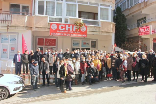 Çınarcık'ta CHP'ye Büyük Katılım