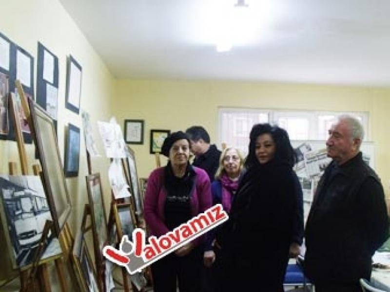 Civelek'ten Ressamlara Ziyaret