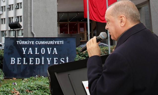 Cumhurbaşkanı, Kılıçdaroğlu'na Yalova Üzerinden Yüklendi