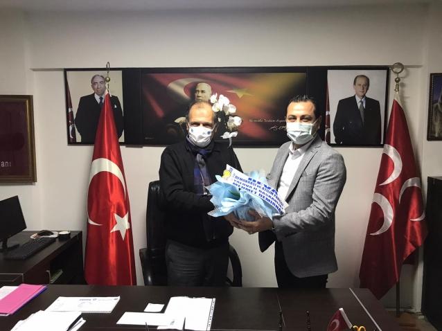 Deva'dan MHP'ye Nezaket Ziyareti