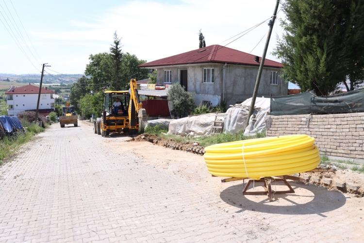 Seyrantepe Mahallesi'nde Doğalgaz Altyapı Çalışmalarına Başlandı
