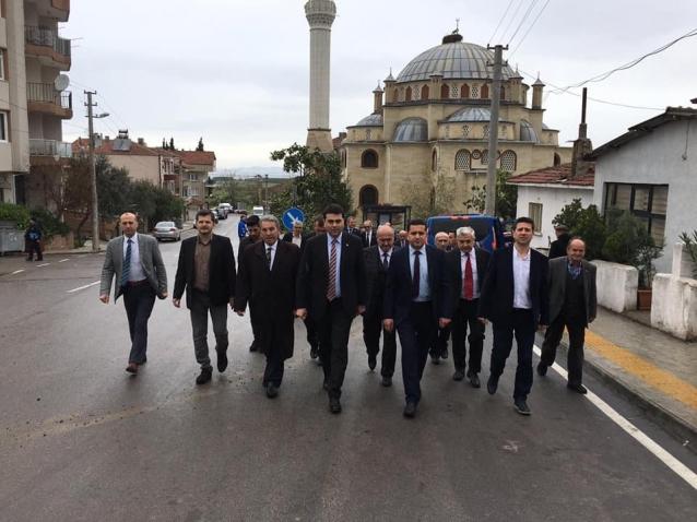 DP Genel Başkanı Gültekin Uysal Yalova'daydı