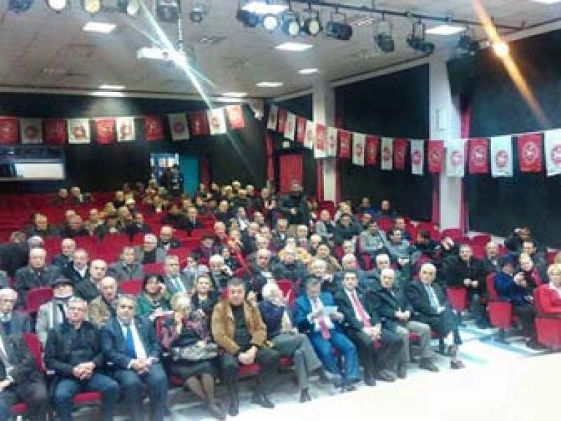 DP Taban Hareketi Toplantısı Yapıldı