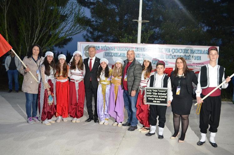 Kaytazdere'de Uluslar Arası Folklor Gösterisi