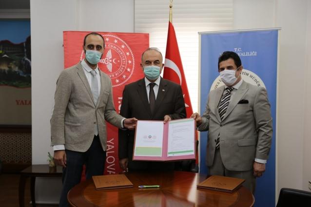 """""""Eğitim Ve Sağlık El Ele Projesi"""" Protokolü İmzalandı"""