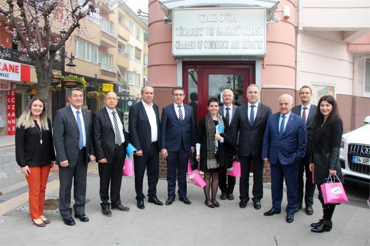Ekonomi Bakanlığı Temsilcileri Yalovalı Sanayicilerle Buluştu