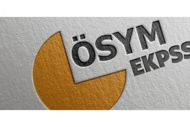 EKPSS Başvuru Sürecinin İlk Aşaması Tamamlandı