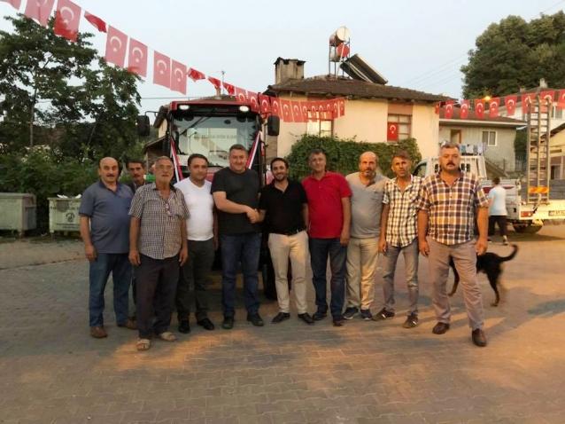 Elmalık Köyüne Yeni Traktör