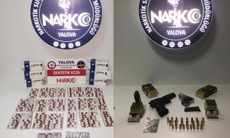 Yalova Polisinden Uyuşturucu Satıcılarına Darbe
