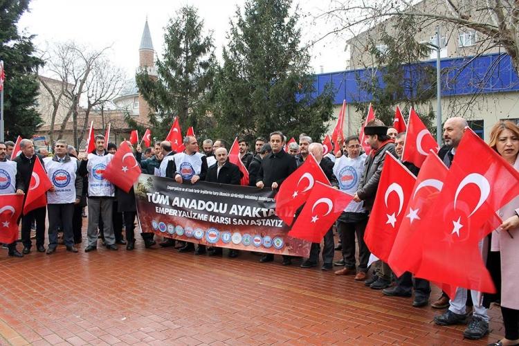 """""""Emperyalizme Karşı Ayaktayız"""""""
