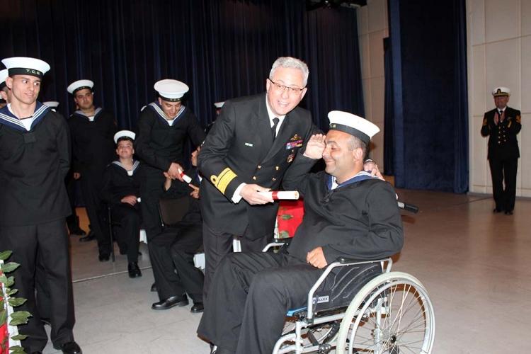Yalovalı Engelliler 1 Günlüğüne Asker Oldular