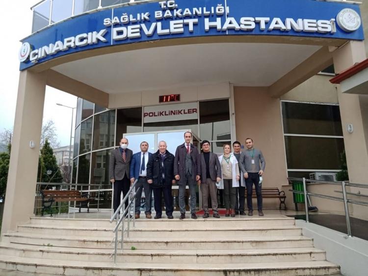 Eray Çınarcık Devlet Hastanesi'ni Denetledi