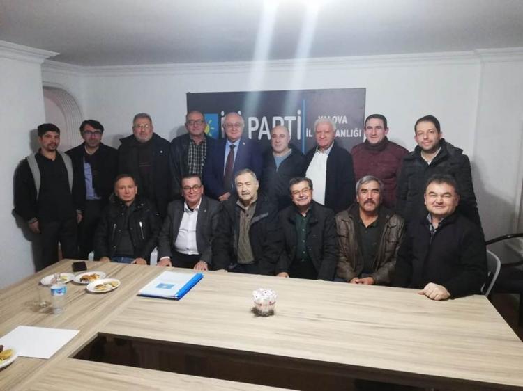 Erozan İyi Parti İstişare Toplantısına Katıldı