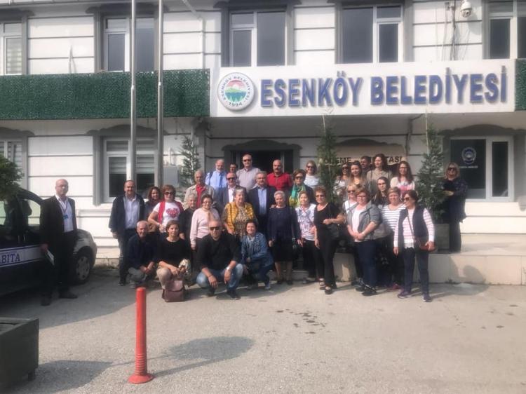 Esenköy'de Türk-Yunan Dostluğu