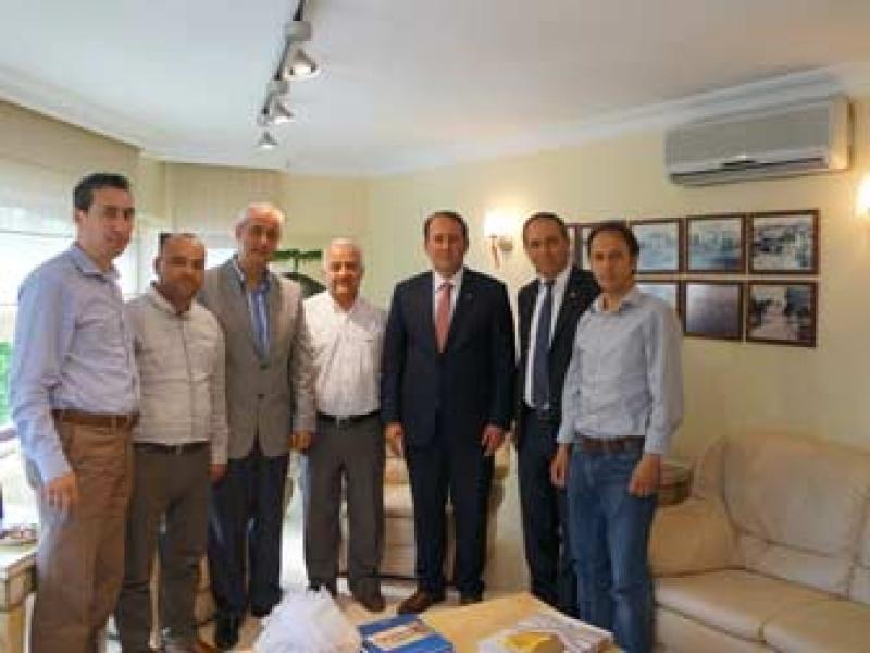 Eskişehir Oda Başkanı Karacan'dan YTSO'ya Ziyaret