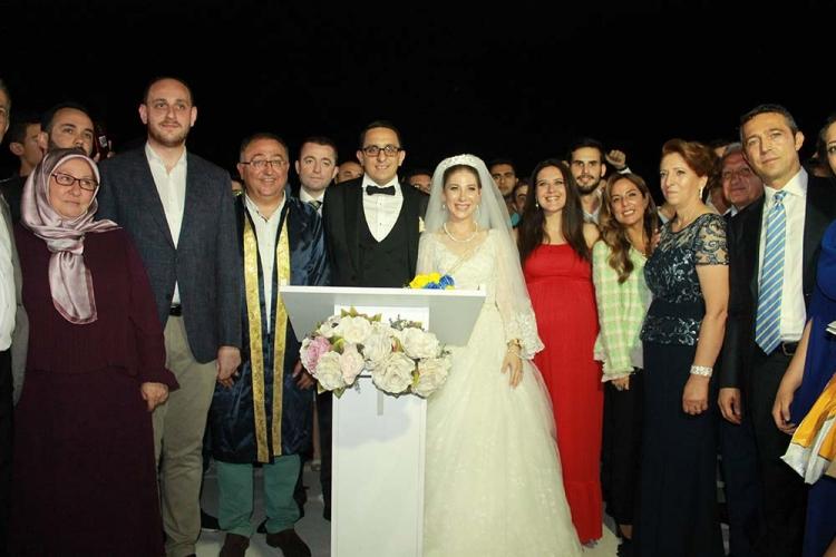 Fenerbahçe Başkanı Ali Koç Hasan Doğan'ın Nikahına Katıldı
