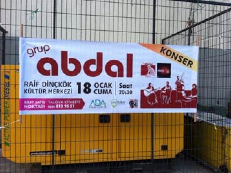 Grup Abdal Yalova'ya Geliyor