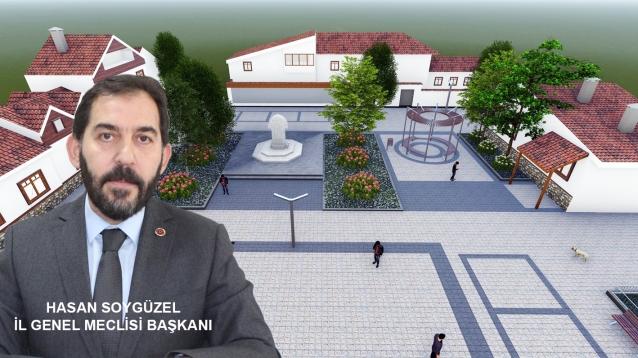 """""""Güneyköy Tarihi Kimliği İle Buluşacak"""""""