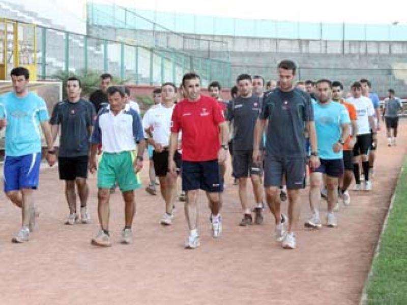 Halis Özkahya Sezonun İlk Derbisinin Hazırlıklarına Yalova'da Devam Ediyor