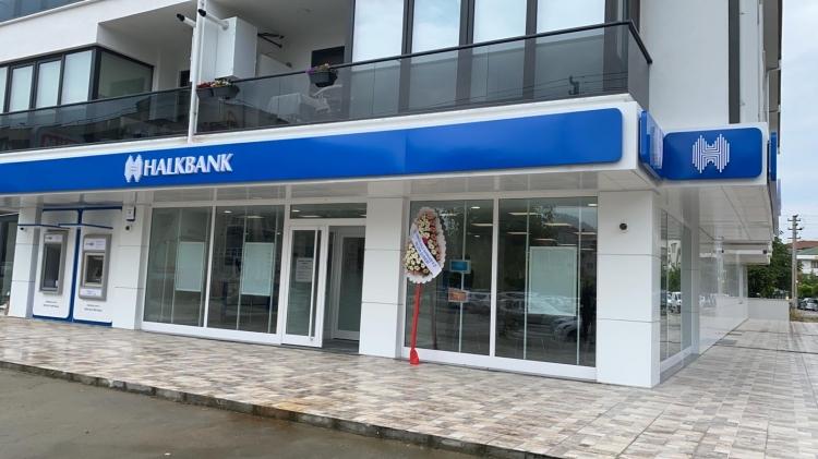 Halkbankası Mimoza Şubesi Hizmete Girdi