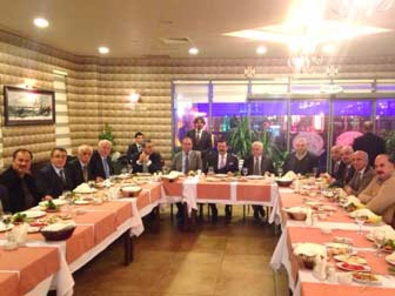 Hisarcıklıoğlu ve Yönetim Kurulu Üyeleri Yalova'da