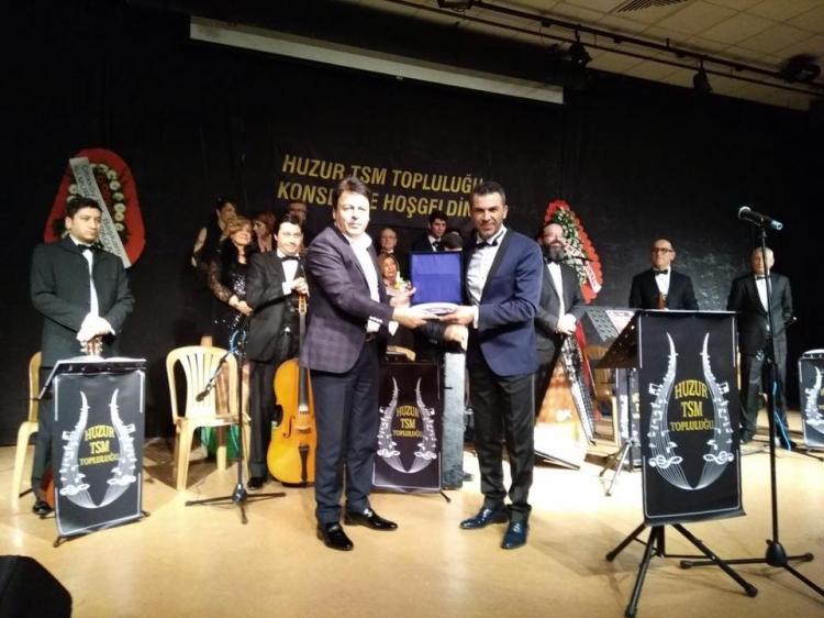 Huzur Türk Sanat Müziği Konseri İlgi Gördü