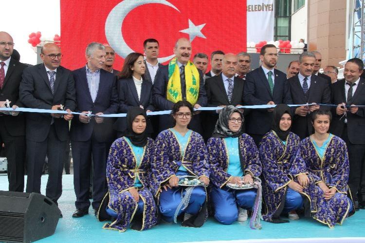 İçişleri Bakanı Süleyman Soylu Yalova'daydı
