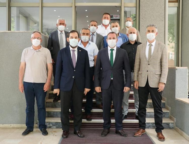 İl Genel Meclisi'nden Tutuk'a Hayırlı Olsun Ziyareti