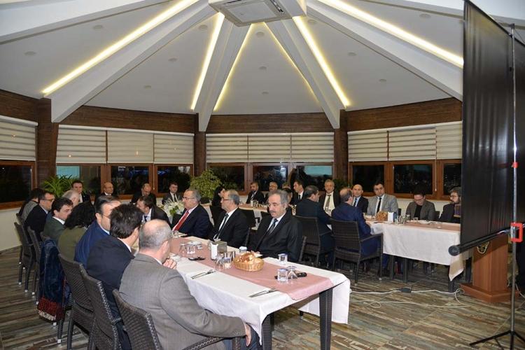 İl İdare Başkanları Toplantısı Yapıldı