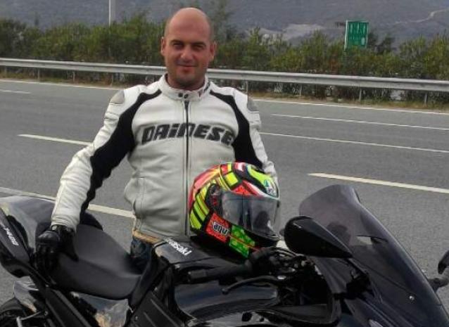 Yalova'da  Motosiklet Kazası