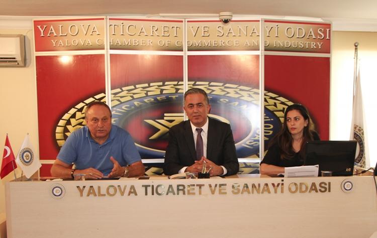 Taşınmaz Ticareti Bilgilendirme Toplantısı Yapıldı